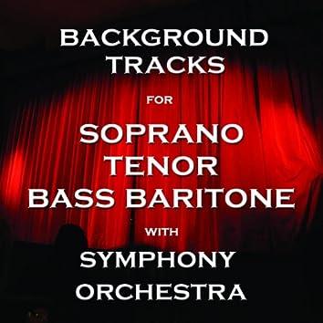 Background Tracks for Tenor, Soprano and Bass Baritone