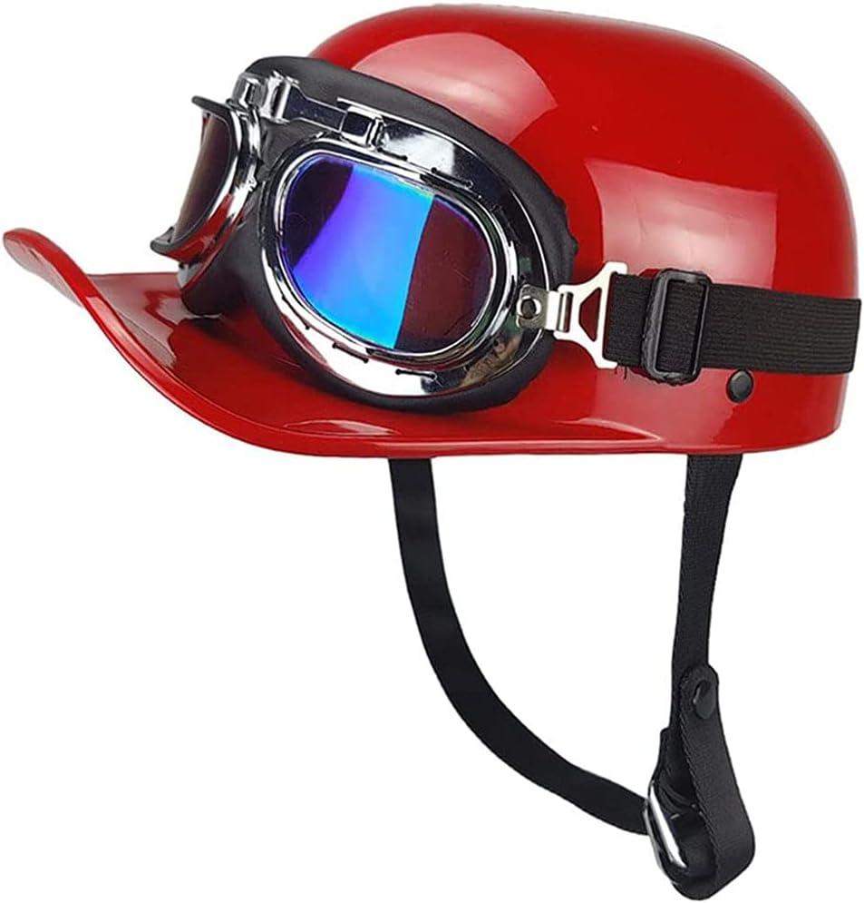 ABWYB Retro Half Max 89% OFF Helmet 5 ☆ very popular Baseball German Style - Moto Cap