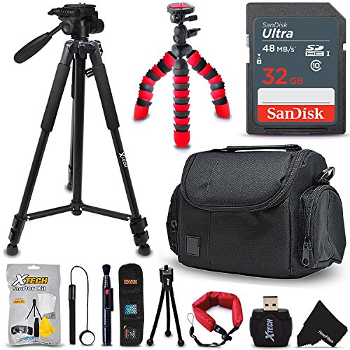 Check Out This Pro Accessories Bundle Kit for Digital & DSLR Cameras Includes: 32GB SD Memory Card, ...