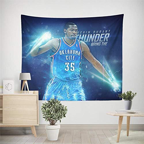 Tapiz insonorizado juego de estrella de baloncesto slam dunk tapiz suave y suave suministros de ropa de cama de Tarot 130x150cm / M