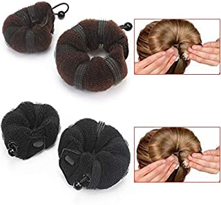 1 piece 2pcs Handy Hair Styling Updo Bun Maker Soft Hairstyle DIY Tool For Women Brown