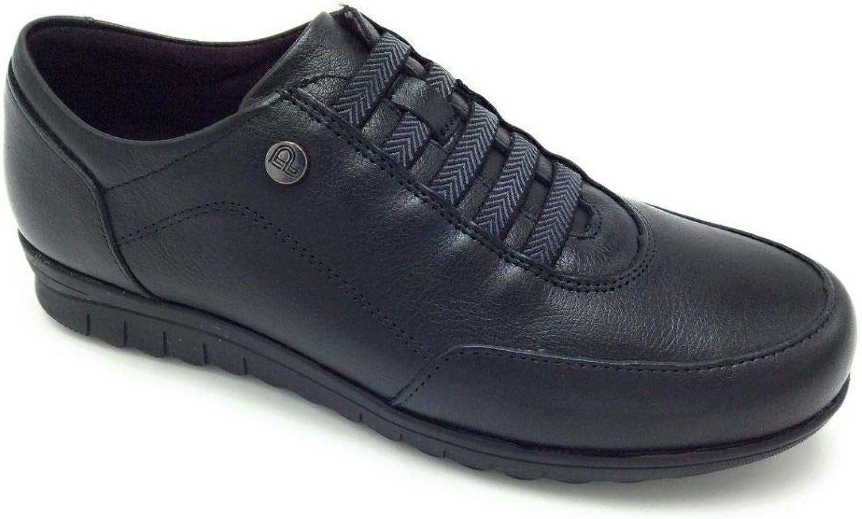PITILLOS 2985 Schuh, elastisch, Schwarz Schwarz  hohe qualität und schnelles verschiffen