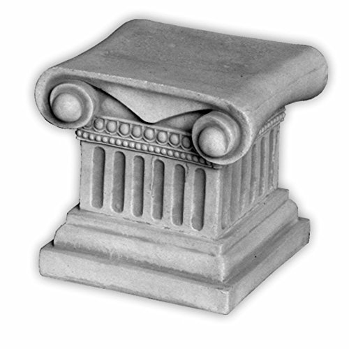gartendekoparadies.de Herrlicher Sockel Podest für Statuen oder Pflanzgefäße aus Steinguss. frostfest