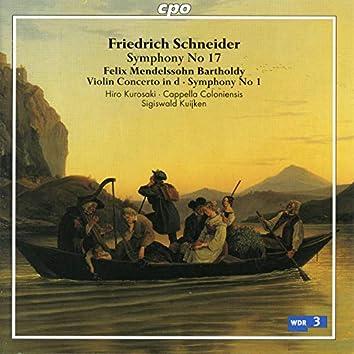 Schneider & Mendelssohn: Orchestral Works