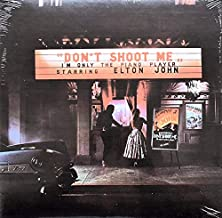 Elton John Vinyl Album Don't Shoot Me I'm Only The Piano Player 1972 New Sealed First Printing