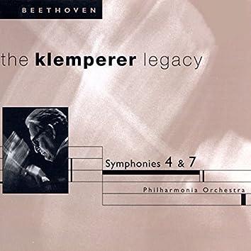 The Klemperer Legacy: Beethoven Symphonies Nos. 4 & 7