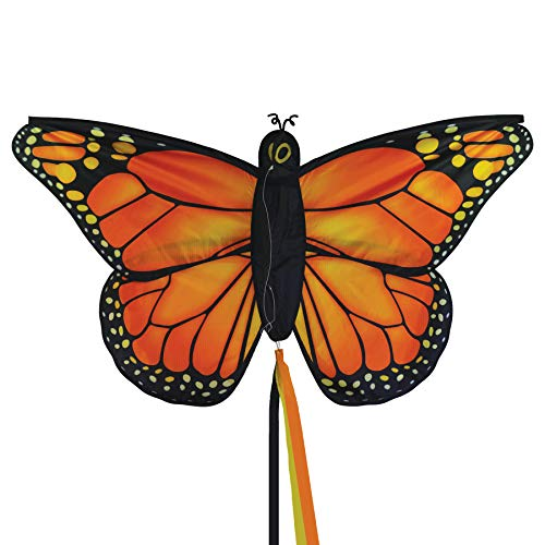 "In the Breeze 3289 - 49.5"" Monarch Butterfly Kite - Fun, Easy Flying Kite"