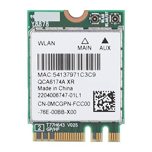 Cuifati Tarjeta de Red Bluetooth4.1, Tarjeta de Red Original inalámbrica Bluetooth 4.1 de Alta Velocidad, Modo Dual 2.4G/5G NGFF/M.2 Tarjeta de Red para ASUS 2.4G/5G NGFF/M.2