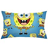 Pillow Cases Spongebob Squarepants Throw Cushion Covers Body Pillow Cover for Car Sofa Bed Home Decor 20'x30'