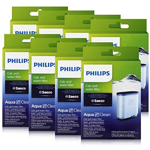 Philips CA6903/10 AquaClean Wasserfilter für Saeco Philips Automaten (8er Pack)