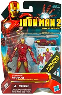 Hasbro Iron Man 2 Movie Mark VI Iron Man Action Figure