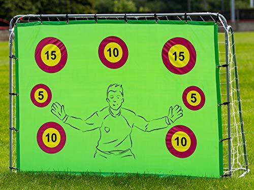 Portería de fútbol con objetivos, 2.1...