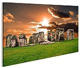 islandburner Bild Bilder auf Leinwand Stonehenge V4 1p XXL