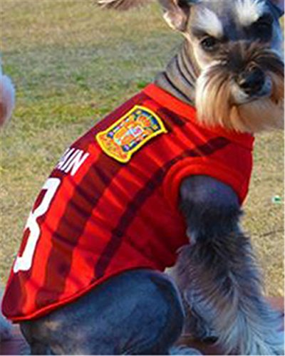 ワボーズ『ワールドカップ犬用サッカー運動シャツ』