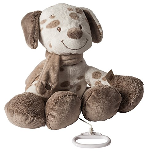 Nattou Spieluhr, Mädchen und Jungen, 28 cm, beige - Max der Hund