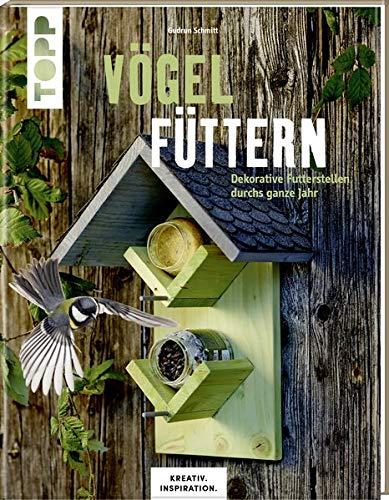 Vögel füttern: Dekorative Futterstellen durchs ganze Jahr
