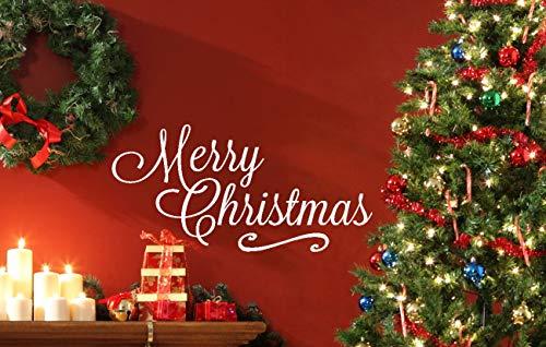 Jingle All the Way Red Glitter Decoración Fiesta Navidad Cake Topper Celebrar