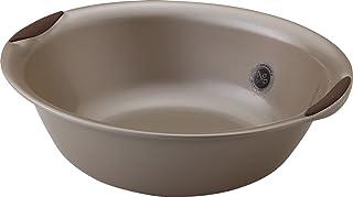 リス 洗面器 すべり止め付き ブロンズ ラスレヴィーヌ 『ユニバーサルデザイン浴用』 日本製