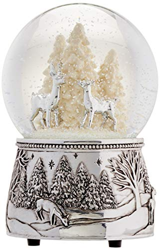Reed & Barton North Pole Bound Christmas Snowglobe