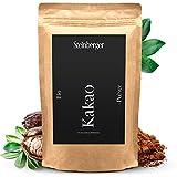 Premium BIO Kakaopulver von Steinberger | ungesüßtes stark entöltes Kakaopulver zum Verfeinern von Süßspeisen | 500g im wiederverschließbaren Aromapack