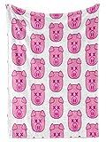 Premium Fleece Throw Blankets Handmade Shane Dawson Jeffree Star Collab Pig Cute | Super Soft Cozy Plush, Sofa Chair Bed Camping Gift, 3 Sizes 30x40 50x60 60x80 Inches