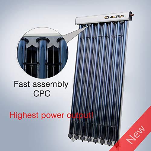 Colector solar de 25 tubos de HEAT PIPE, 58mm x 1800mm