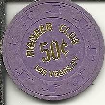 $.50 pioneer club casino las vegas casino chip purple