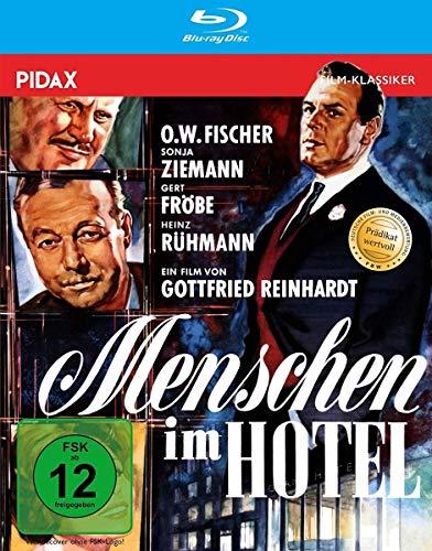 Menschen im Hotel / Mit dem Prädikat WERTVOLL ausgezeichnete Bestsellerverfilmung in brillanter HD-Qualität (Pidax Film-Klassik
