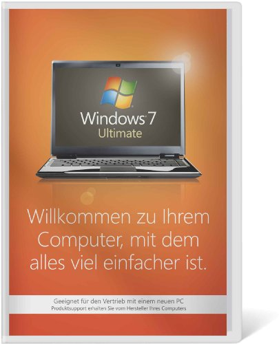 Windows 7 Ultimate 64 Bit OEM [Alte Version]