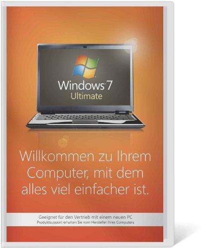 Windows 7 Ultimate 32 Bit OEM [import allemand]