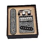 Pickups de guitarra Conjunto de pastillas de cuello de guitarra eléctrica de Telecaster con 6 cuerdas de silla de montar placa de invierno