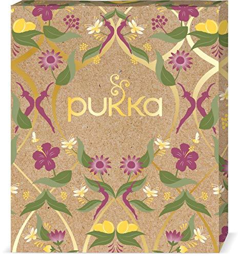 Pukka Wohlfühl Selection Geschenk Box, Kollektion ausgewählter Bio-Kräutertees (1 Box, 45 Bio-Teebeutel) 85 g, 45 stück