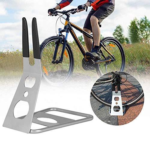 AMAIRS Fahrradabstellplatz, Fahrradabstellständer Nabe Abstellständer Für Die Wartung des Abstellständers Mountainbike Rennrad Universal-Parkhalterung