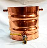 Stampede Stills 2 Gallon Copper Moonshine Still Thumper Keg (Doubler)