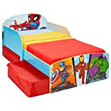 Worlds Apart Marvel Superhéroes-Cama Infantil para...