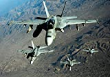 The Poster Corp Stocktrek Images – Four US Navy F/A-18