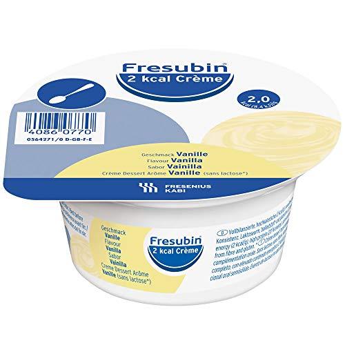 FRESENIUS FRESUBIN CREME 2KCAL 125 G 4 TARRINAS VAINILLA