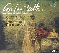 Mozart - Cos矛 fan tutte / Gens 路 Fink 路 G眉ra 路 Boone 路 Spagnoli 路 Oddone 路 Concerto K枚ln 路 Jacobs
