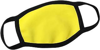 Alsino Dagelijkse mondmasker, mond- en neusbescherming, wasbaar, verwisselbaar PM 2,5-filter, eenkleurig, voor dames, here...