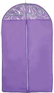 Elenxs Cloth Suit Storage Garment Bag Protective Cover Guards Against Dust