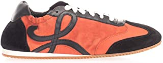 LOEWE Luxury Fashion Womens 453291717888 Red Sneakers | Fall Winter 19
