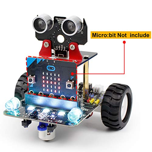 Smart Robot Car Kit for Micro:bit BBC (without Micro:bit Board)