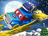 Der schlitten vom weihnachtsmann /  Der elf truck / Der ski-lkw