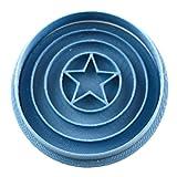 Cuticuter Supereroes Capitan America, stampo per biscotti, blu, 8 x 7 x 1,5 cm