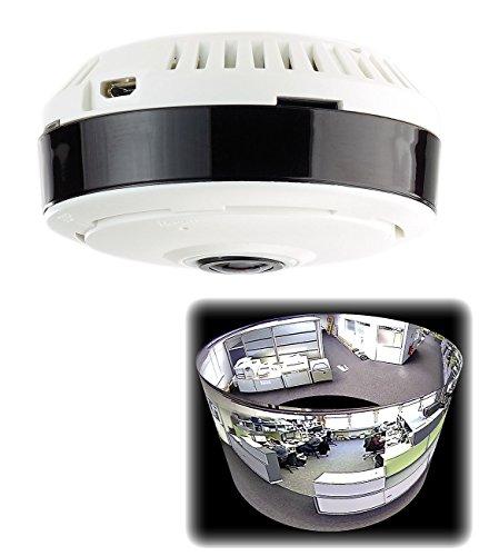 7links 360 Grad Kamera WLAN: IP-Panorama-Überwachungskamera für 360°-Rundumsicht & Nachtsicht, 960p (360 Grad Kamera Überwachung)