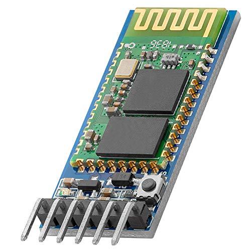 AZDelivery HC-05 HC-06 Bluetooth Wireless RF-Transceiver-Modul RS232 serielle TTL kompatibel mit Arduino und Raspberry Pi inklusive E-Book!
