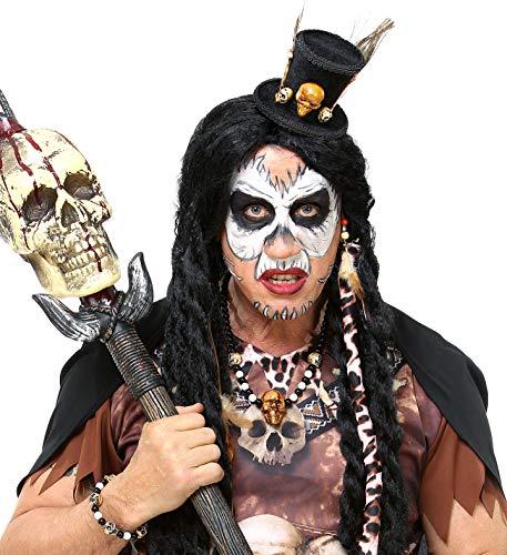 Panelize Karneval-Zubehör Voodoo Zauber Indianer Medizinmann Voodoo-Priesterin