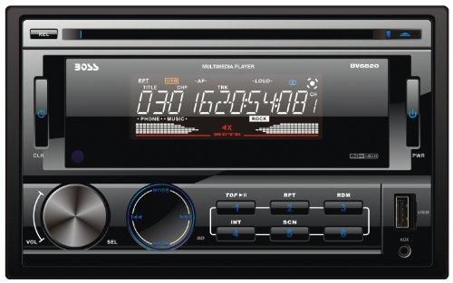 Boss Audio Systems BV6820 sintonizador de CD/DVD para el coche - Radio para coche (AM, FM, 1-bit, 15,75 cm (6.2'), TFT, Negro, MMC, SD)