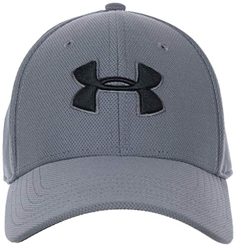 Under Armour, Men'S Blitzing 3.0 Cap, Cappellino, Uomo, Grigio (Graphite/Black/Black 040), M/L
