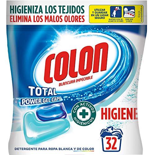 Colon Total Power Gel Caps Higiene - Detergente para Lavador